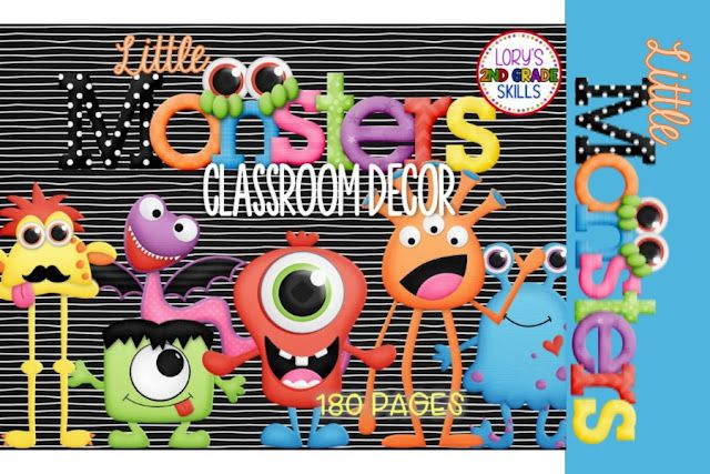 Monster Classroom Decor ~ Little monster classroom decor lory s page lovin