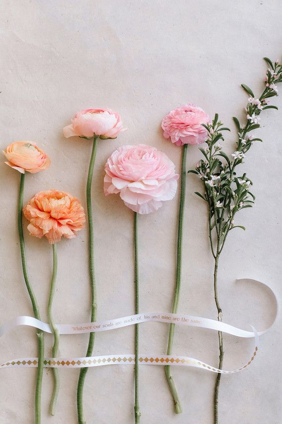 DIY printed ribbons for your wedding bouquet with P-touch