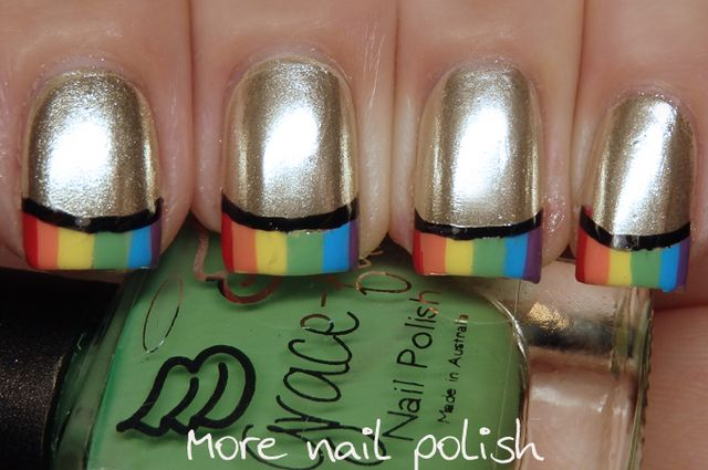 26 Great Nail Art Ideas French With A Twist More Nail Polish