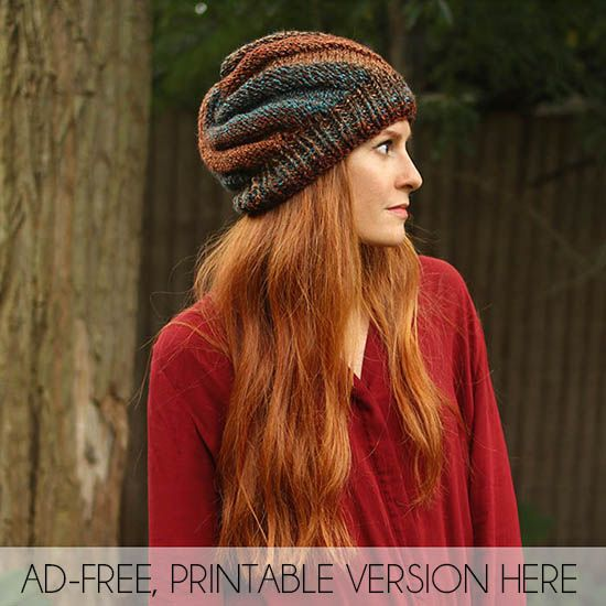 Flat Knit Swirl Hat Free Knitting Pattern Gina Michele Bloglovin
