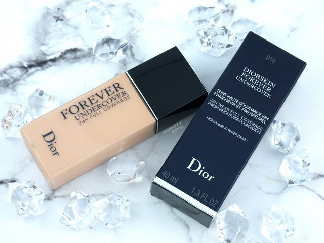 Wspaniały Dior | DiorSkin Forever Undercover Foundation: Review and Swatches BQ21