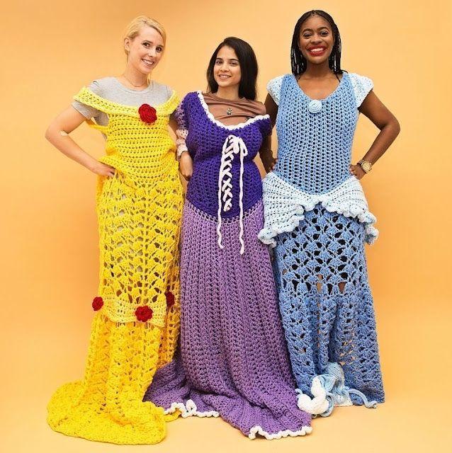 de princesas ganchillo princesa mantas parecen de vestidos de Estas 8WwqtIgaxw