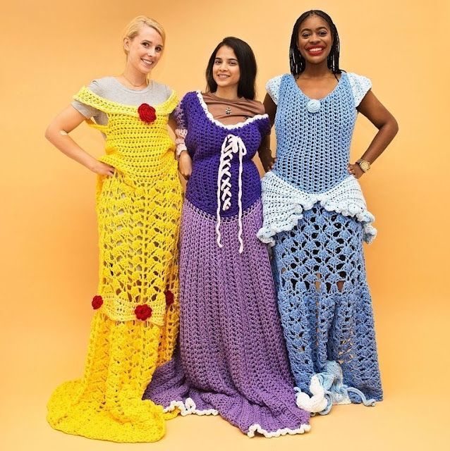 de vestidos princesas de mantas parecen princesa ganchillo Estas de wY0qzn8Z