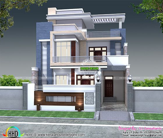 5 Bedroom 30x60 House Plan Architecture Kerala Home Design