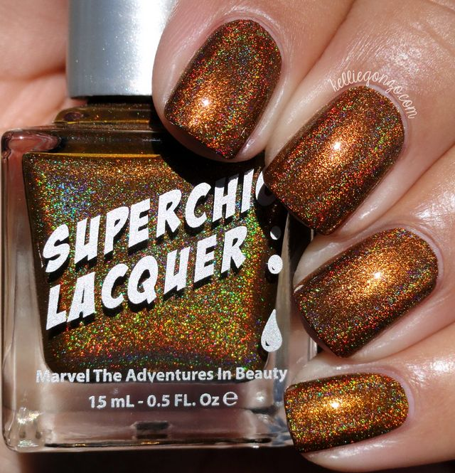 SuperChic Lacquer Urban Dictionary Collection Swatches