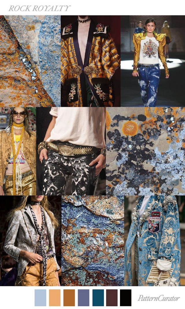 TRENDS PATTERN CURATOR ROCK ROYALITY FW 2018