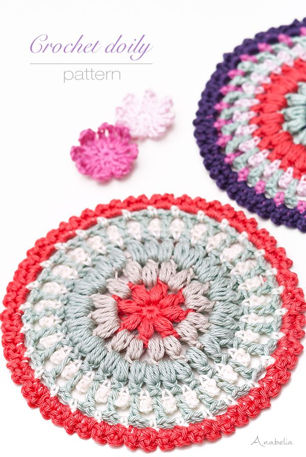 Crochet mini mandalas plus an enjoyable yarn surprise | Anabelia ...