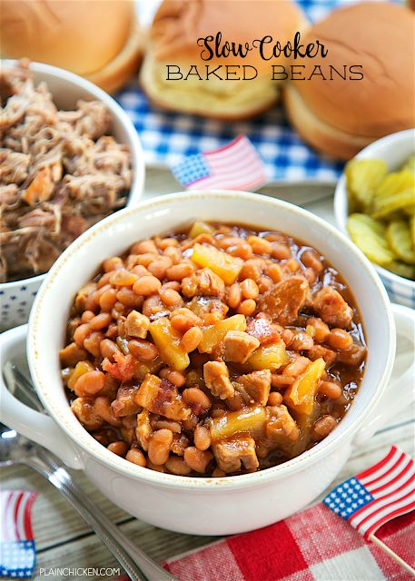 Slow Cooker Baked Beans Plain Chicken Bloglovin