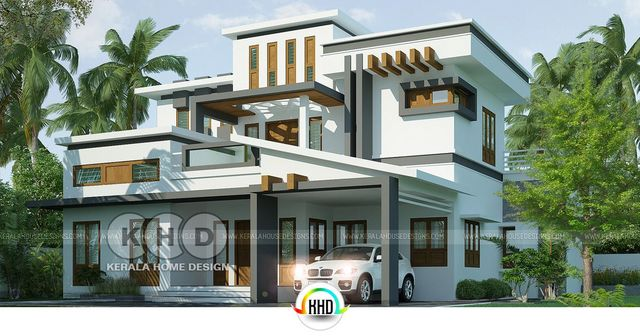 Contemporary House Kerala 2018