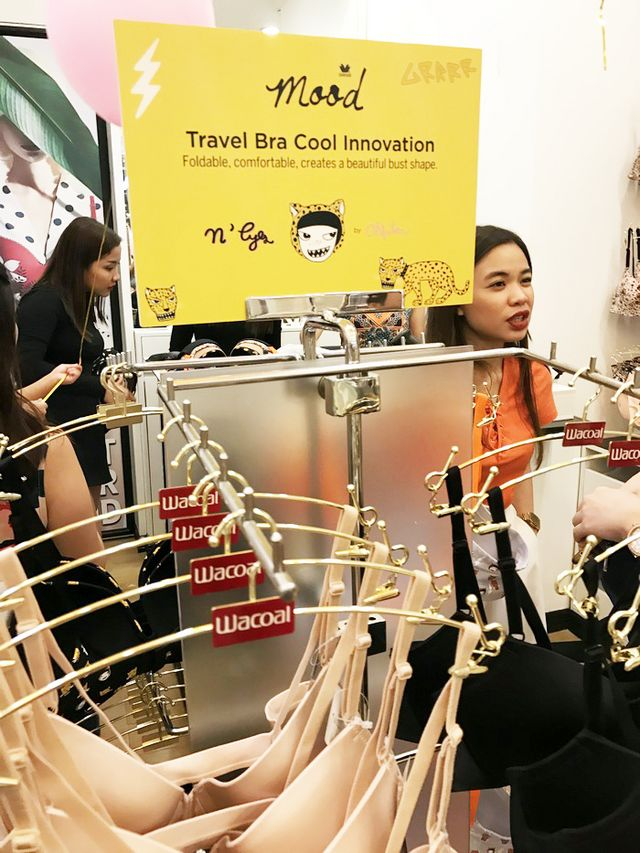 ffb517126e Wacoal Mood Launches Travel Bra   First Store in UP Town Center ...