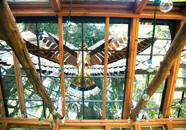 The Stained Glass Cabin Of Neile Cooper From Moon To