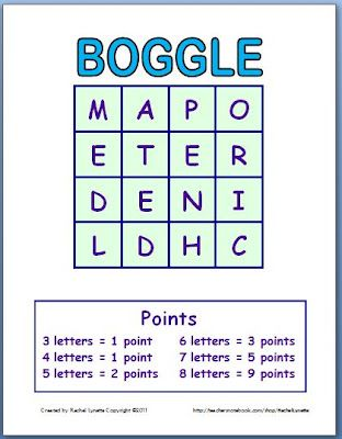 Play Boggle with Your Class! | Classroom Freebies | Bloglovin\'