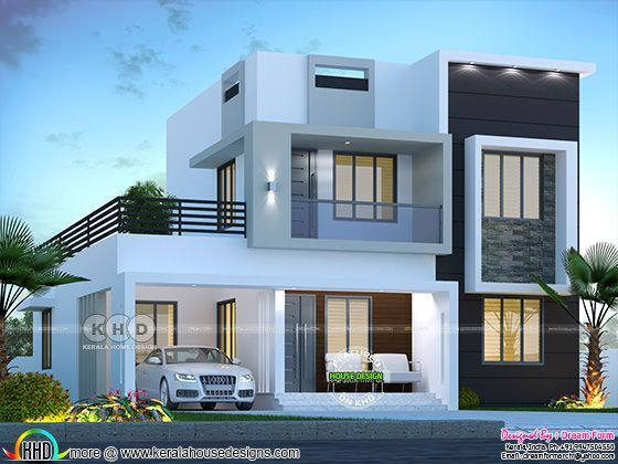 1750 Sq Ft 3 Bedroom Modern House Kerala Home Design Bloglovin