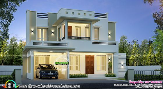 Awesome 28 lakhs house kerala home design bloglovin for 5000 square feet in square meters