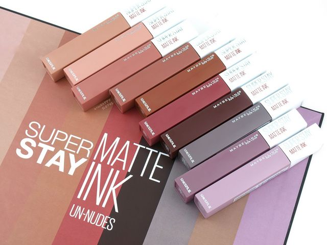 Maybelline Superstay Matte Ink Un Nudes Collection Review