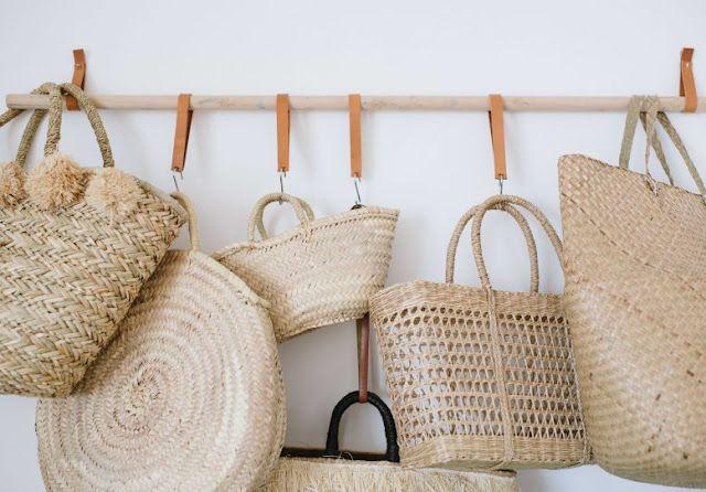 Tendencia: bolsos trenzados, cestas y capazos | De lunares y ...