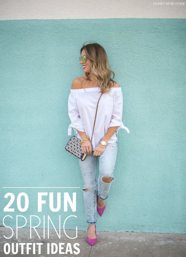 Shelikes Distressed Look Ripped Tassel Fitted Mom Jeans