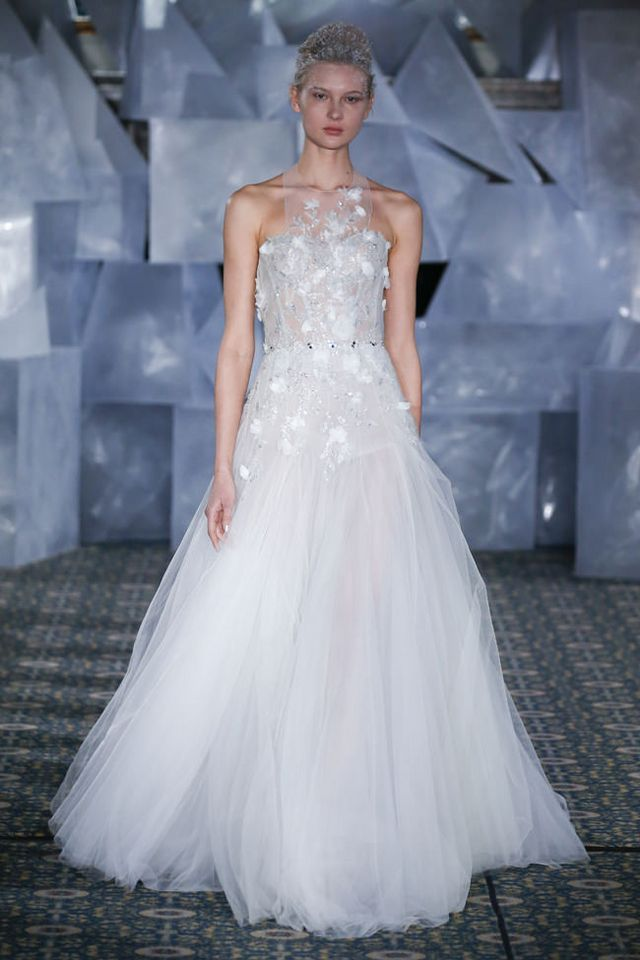 """Mira Zwillinger """"Queen of Ice"""" Spring 2019 Bridal Collection 