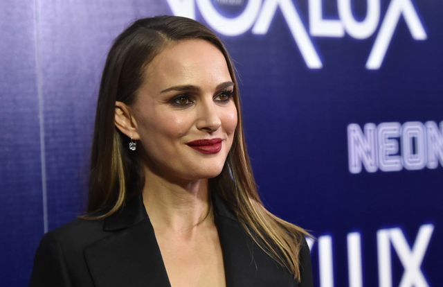 "4a0356f27c6 Natalie Portman in Dior Couture at the ""Vox Lux"" Los Angeles Premiere  IN  or OUT"