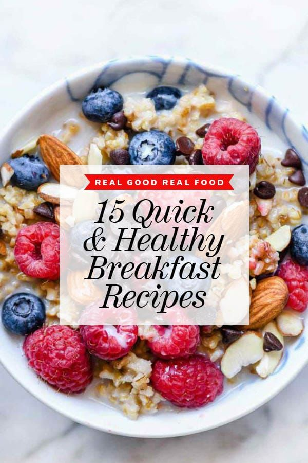 15 Easy Healthy Breakfast Recipes To Get You Through The Week