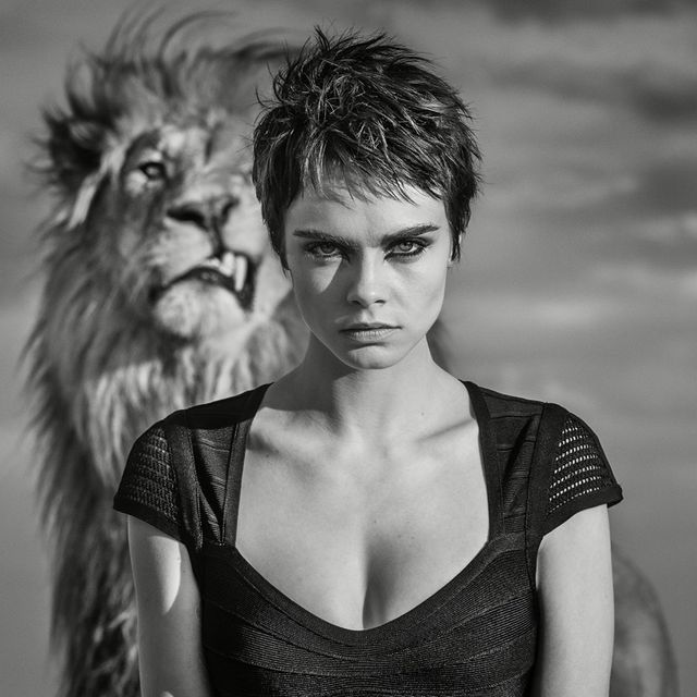 0b32a514af07 Cara Delevingne Goes Wild in Tag Heuer Campaign