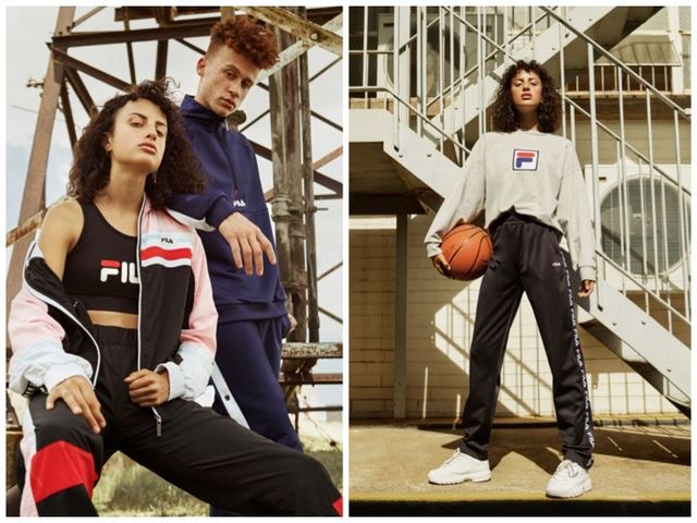 Discover FILA x Urban Outfitters' Athleisure Clothing