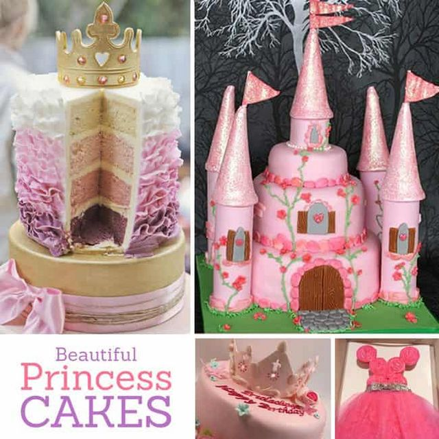 Inspiring Princess Birthday Cakes For A Royal Party Cute Cake Ideas Or The Little In Your Life