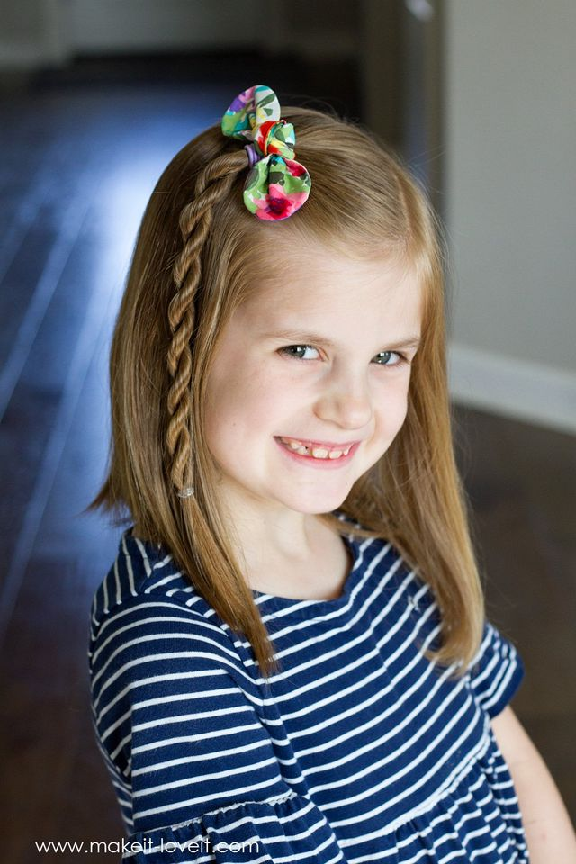 DIY Fabric Knot Hair Bows & Hairstyle Ideas!   Make It and ...