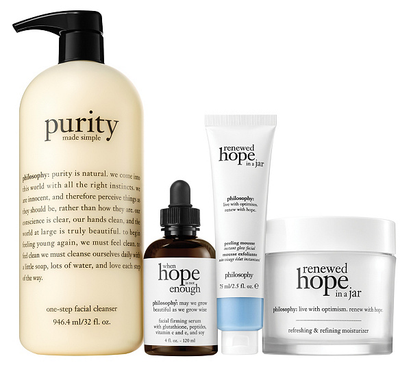 Philosophy Renew with Hope & Purity Super Skin Skincare Set