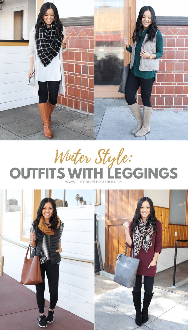 Four Comfy Winter Outfits With Leggings + Nordstrom s Half Yearly ... 97acf349b0e