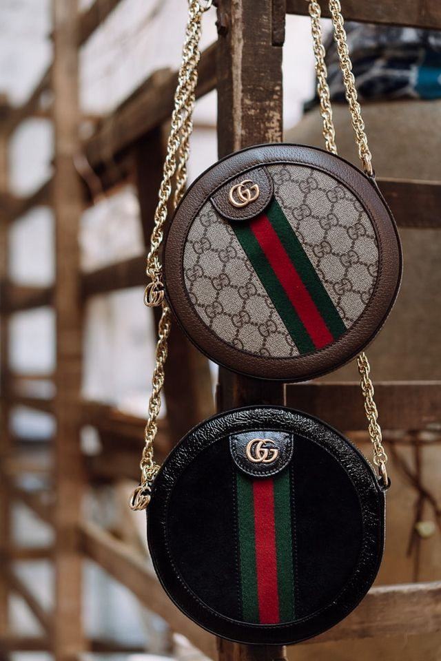 7bb584b86287d9 Fresh for Cruise '19, Gucci introduced a new Ophidia bag, the Gucci Ophidia  Mini Round GG Shoulder Bag, in two iterations: beige/ebony GG Supreme  canvas and ...