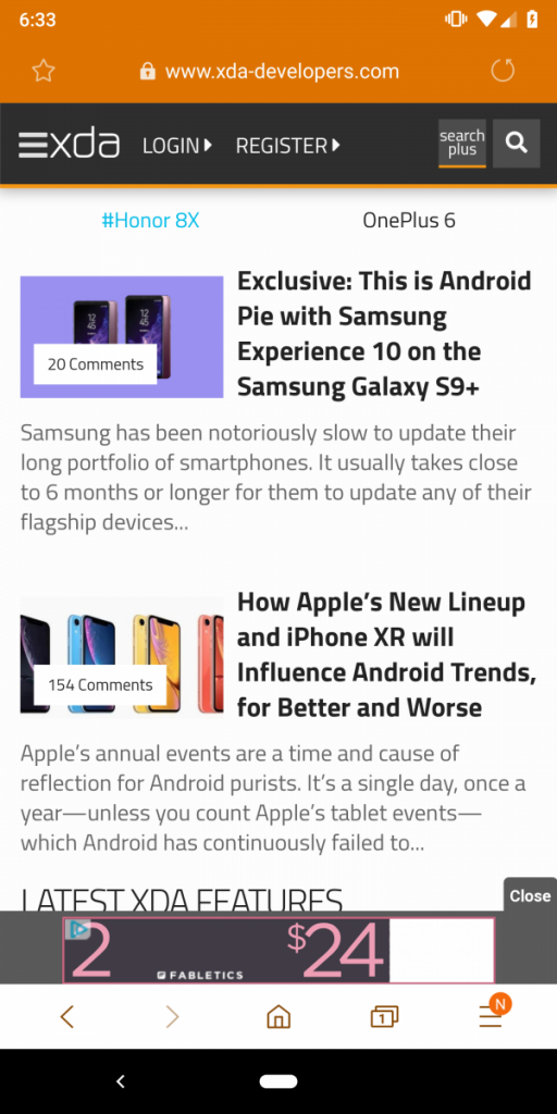 Download: Samsung Internet 9 0 brings major redesign to the