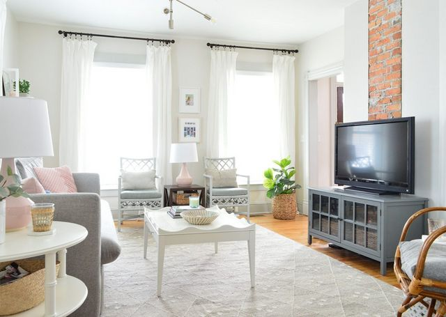 Making A Light & Airy Living Room (That's Still Livable!) | Young
