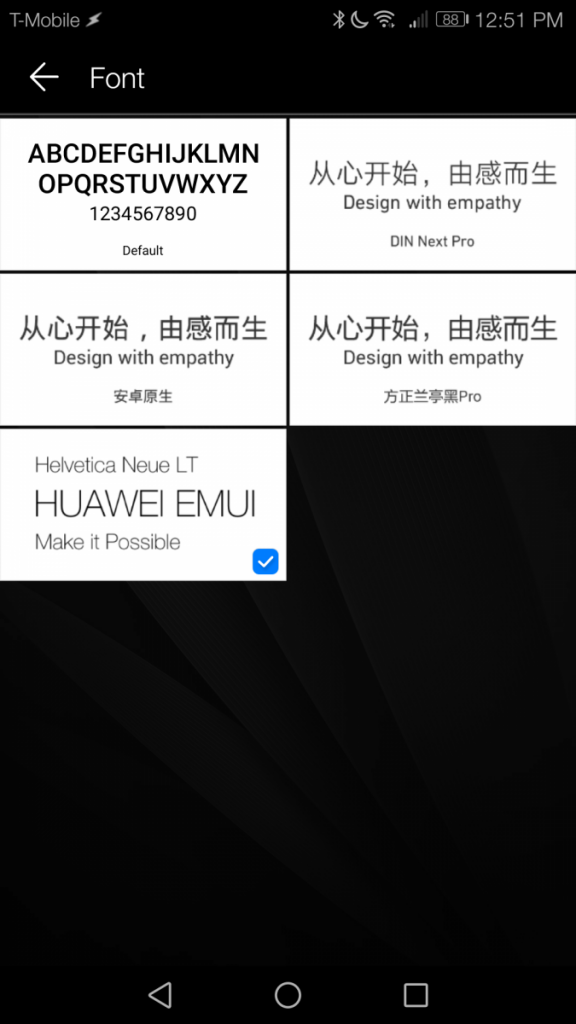 How to Change the Font Style on EMUI 5 0 [No Root] | xda