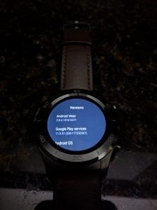 Android Wear 2 8 Update Rolling Out with System-Wide Black