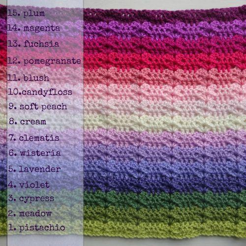 Sweet Pea Blanket CAL :: Part 3   Attic24   Bloglovin'