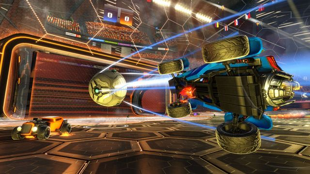 Amongst added agitative updates to Rocket League | Posts by