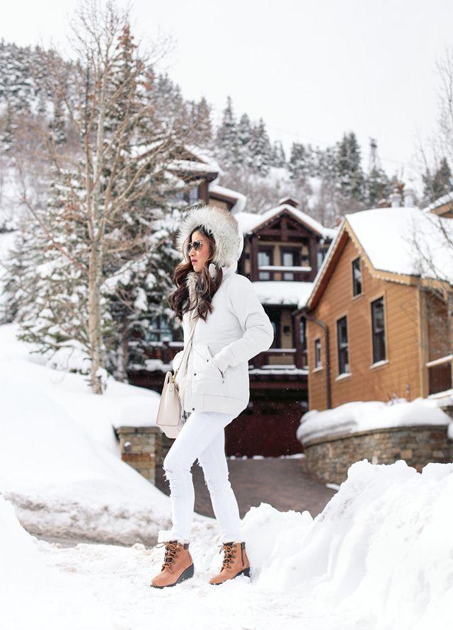 Review  Warm Winter Puffer Coats (Eddie Bauer Petite aeeb2a5a5c2a