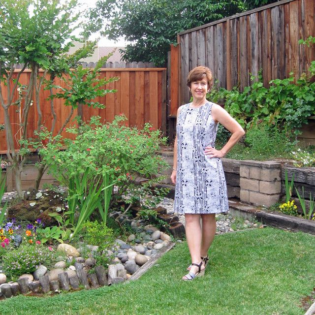 New Look 6500 shift dress: a simple pattern that I couldn\'t leave ...