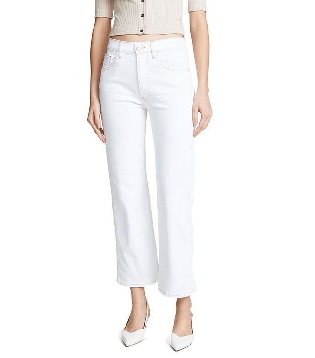 c9578a4671e7 If you're looking for inspiration on how to style white jeans now, keep  scrolling to check out some of our favorite 'fits of the moment and shop  the best ...