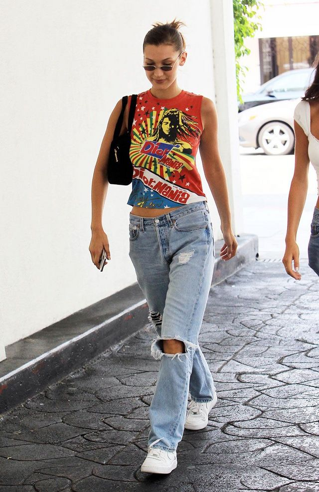 0da2ab557 ... keep scrolling to check out how stars are styling baggy jeans now, and  shop inspired styles if you're ready to give your skinnies a break, too.