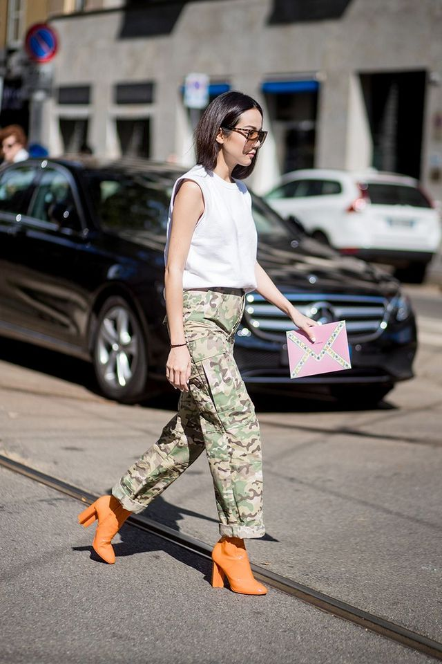 7897ab587d0c0 The Only Way to Wear Camouflage in 2018 | WhoWhatWear.com | Bloglovin'
