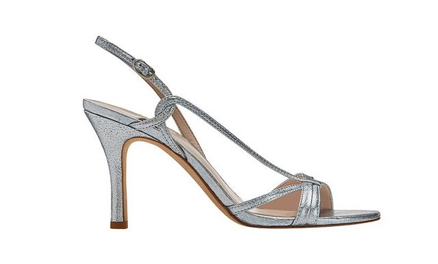 """473a79c2a8a ... that the Nine West shoes she has her eye on are those  80-inspired  styles. """"I love white. It s my go-to color"""