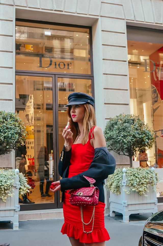 Today I have another post for you from the Fashion Week in Milano. This  time I went for a combination of this little dress with a Balmain blazer. 08cf3c34b5