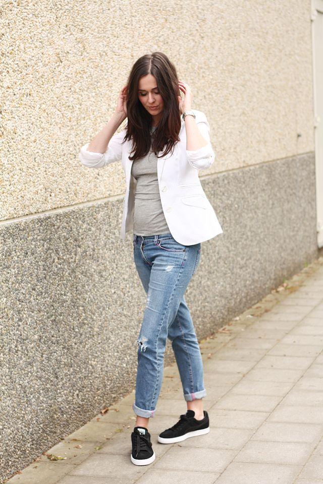 5385c6580 Blazer, Boyfriend Jeans, Puma Sneakers   The Styling Dutchman ...