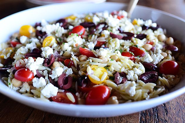 Mediterranean Orzo Salad | The Pioneer Woman Cooks ...