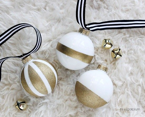 Kate Spade-Inspired DIY Christmas Ornaments | Stunning Homemade Christmas Ornaments You Can DIY On A Budget