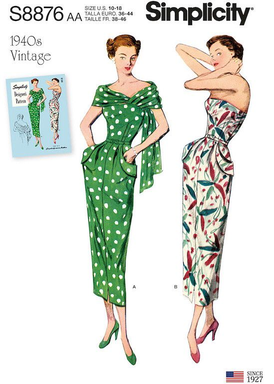 4b8790a67ac New Spring Patterns from Simplicity and Butterick