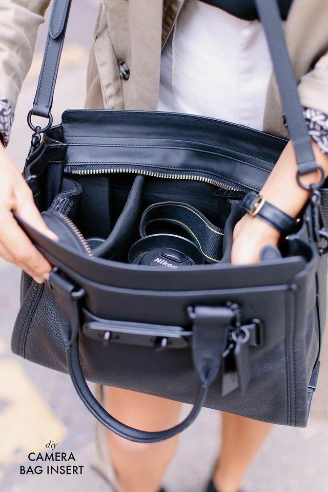 62d86159c6f2 DIY CAMERA BAG   a pair & a spare   Bloglovin'