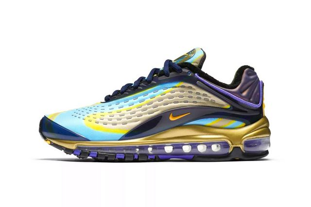 buy popular a1e02 bcd8b Nike Air Max Deluxe WMNS (Midnight Navy Laser Orange-Persian Violet). Nike. Release  Date  July 26